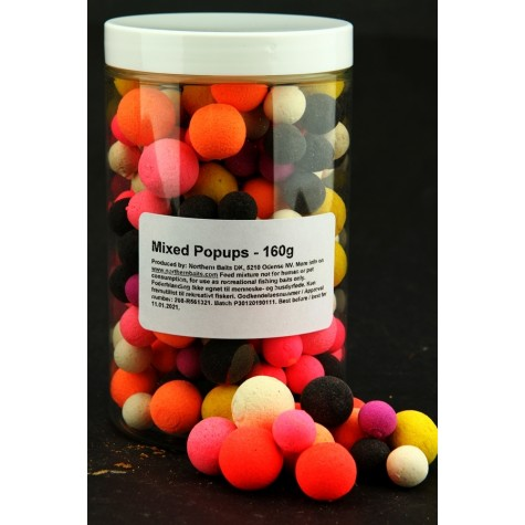 Mixed Popups - 160g (Special offer)