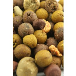 Feed Boilies - Mixed sizes - 4kg